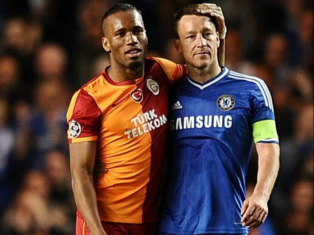 Drogba's still a handful - Terry