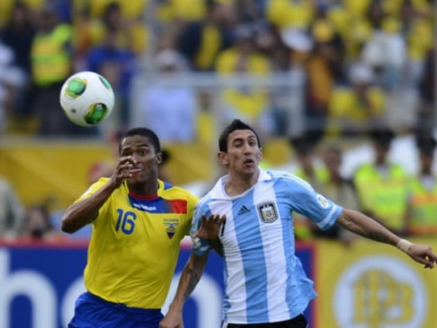 Argentina, Ecuador play to goal-less draw