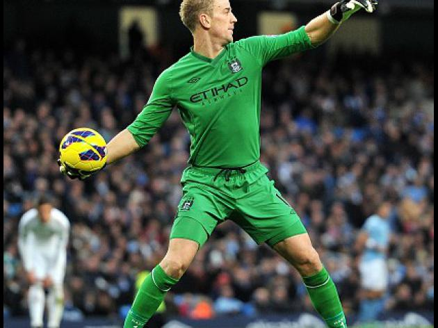 No guaranteed place in City goal for Hart - Mancini