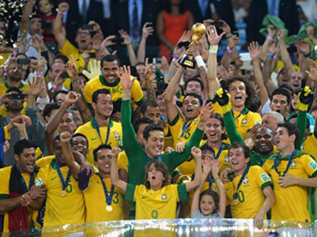 Brazil use home soil and crowd advantage to stun Spain