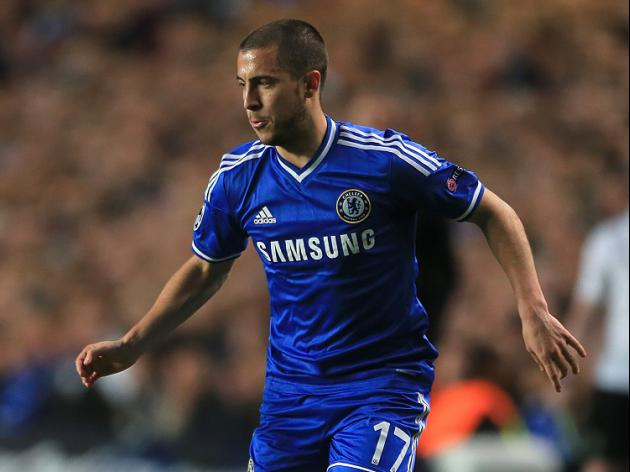 Hazard misses Chelsea training