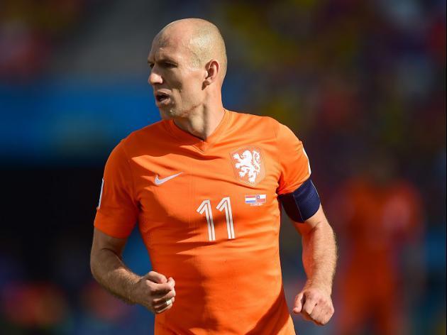 No FIFA action over Robben