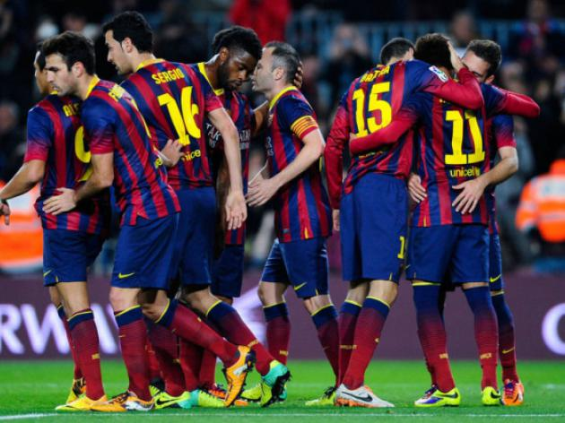 Year of new arrivals ends with Barca still on top