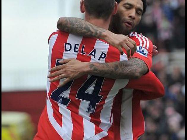 Stoke end losing run against Rovers