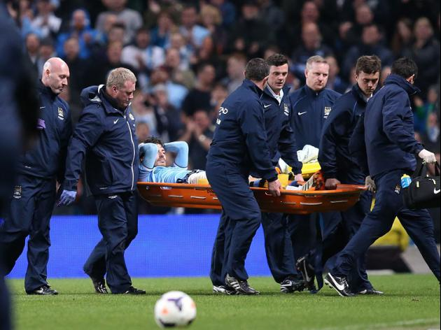 Silva injury mars City win
