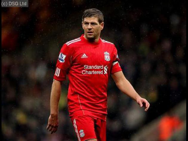Player of the day: Steven Gerrard