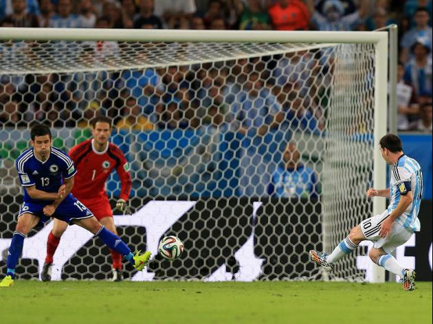 Magic moment from Messi at Maracana