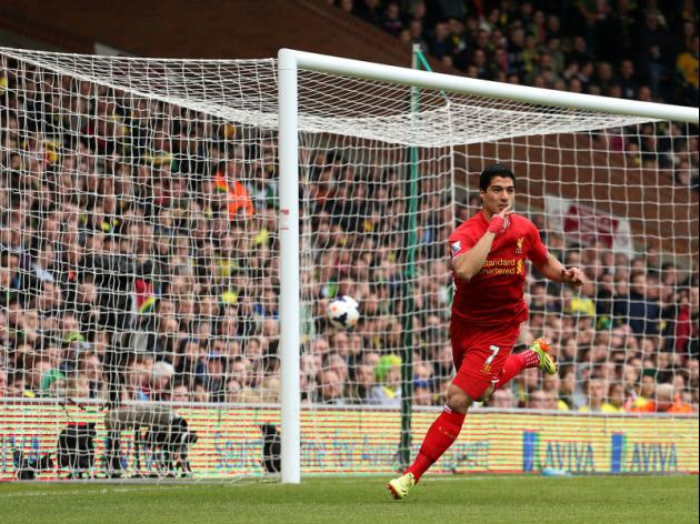 Luis Suarez on the cusp of greatness with Liverpool