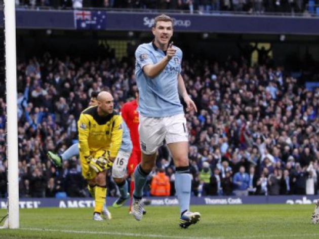Is Dzeko to be the makeweight if Cavani joins Manchester City?
