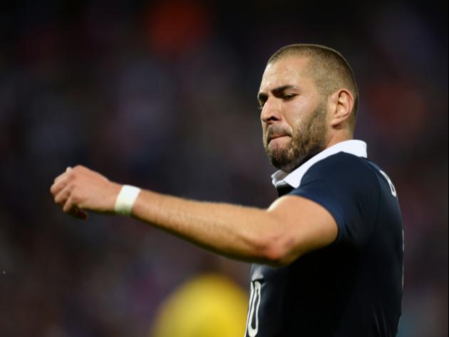 Benzema double helps France forget Ribery blues