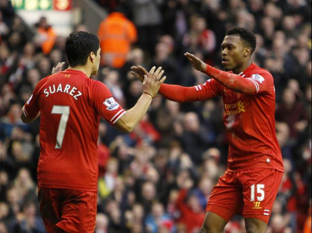 Where do Liverpool's SAS rank? Top five Premier League strike partnerships