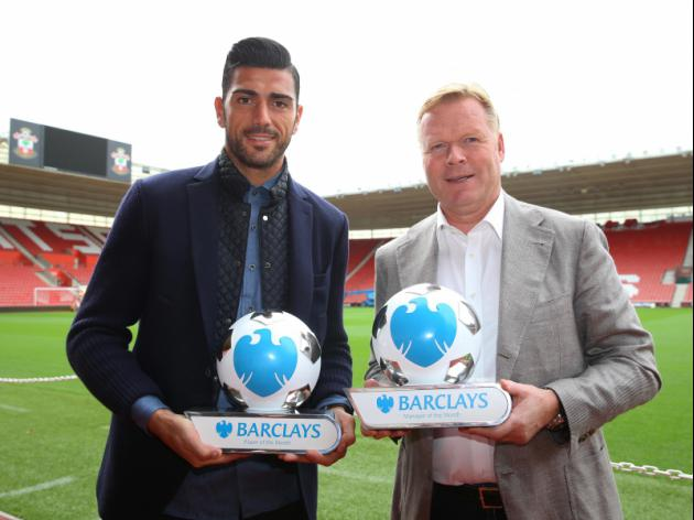 Saints pair win Barclays Manager and Player of the month awards