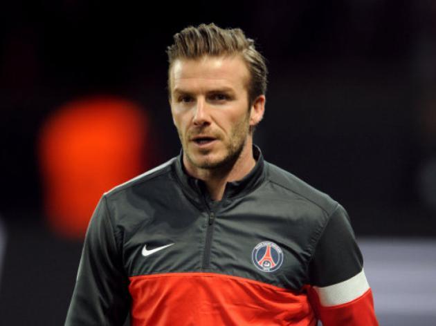 Beckham red was unlucky says PSG Sporting Director Leonardo
