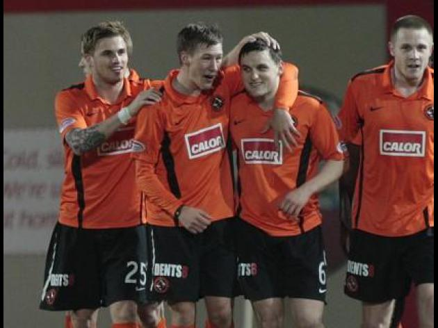 Houston praises Dundee United duo