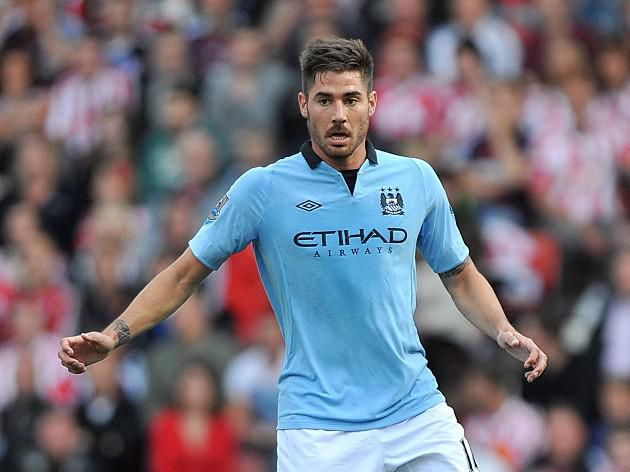 Manchester City midfielder Javi Garcia says, 'City can still win title'