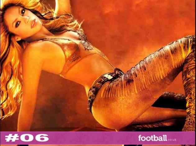 Top 10 hottest World Cup WAGS: 6 - Shakira