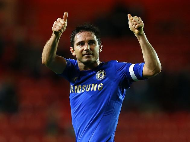 Lampard grateful for support