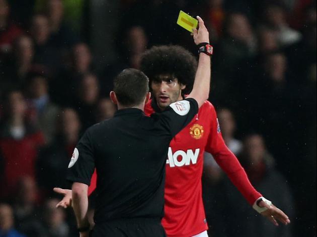 FA dismiss Fellaini spit allegation