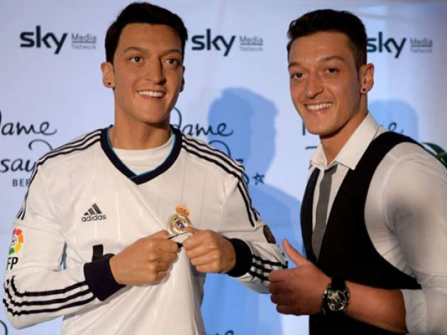 Ozil gets the Madame Tussauds wax treatment