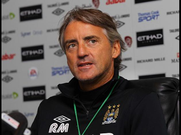 Mancini: United are title favourites
