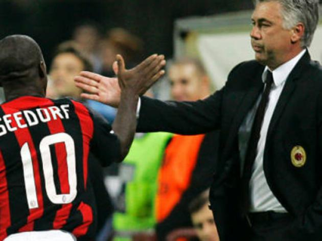 Seedorf seeks Ancelotti guidance for Atletico tie