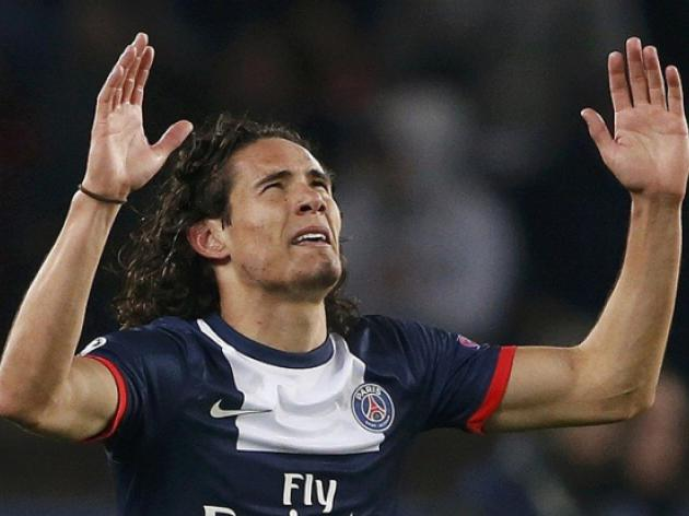 Arsenal Linked With Cavani Bid