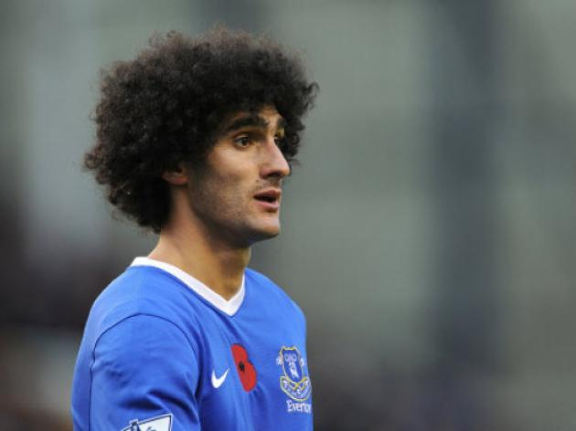 Chelsea target Marouane Fellaini as Lampard replacement