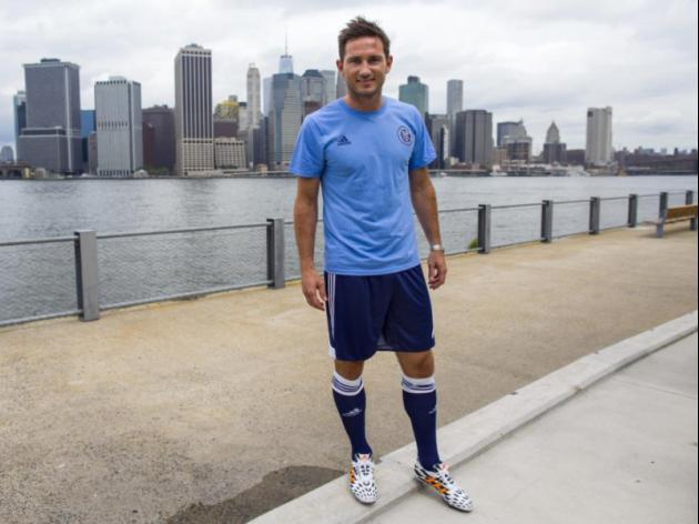 Frank Lampard: From Dark Blue To Pale Blue Via New York