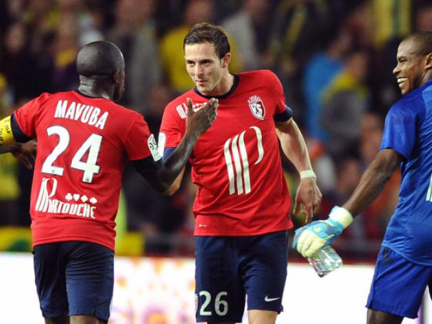 Lille keep pace with leaders PSG