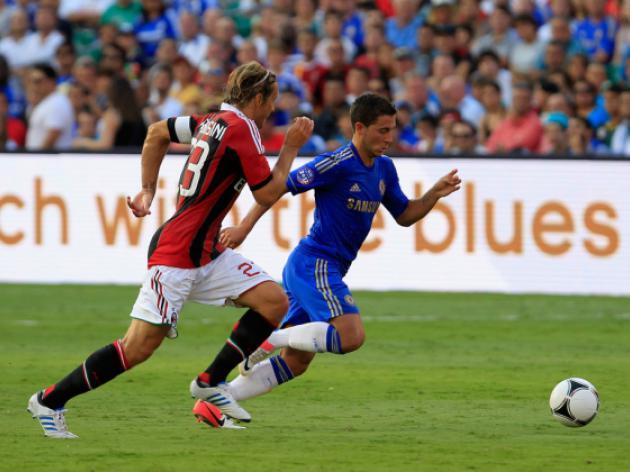 Chelsea down AC Milan 2-0