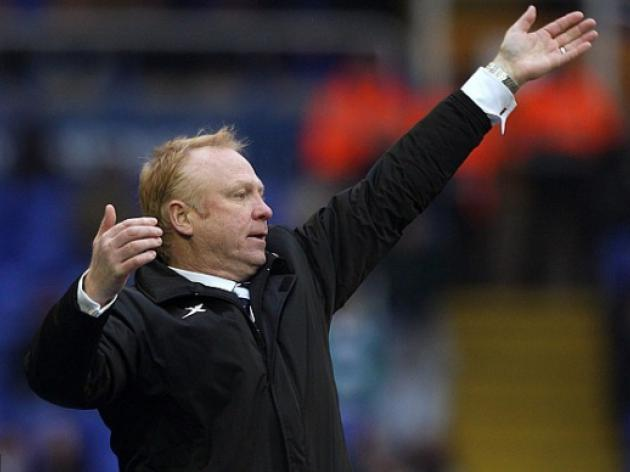 Cup success could cost us our league place, laments Birmingham boss Alex McLeish