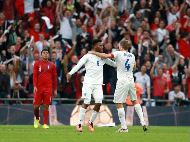 Sturridge stunner spurs England