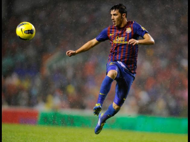 Liverpool plan ambitious bid for David Villa