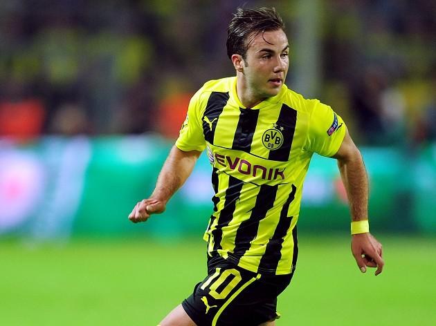 Borussia Dortmund's Mario Gotze ruled out of final