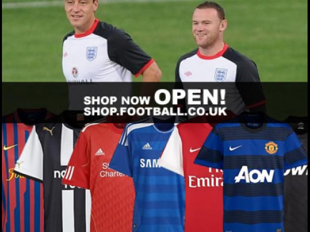 The football.co.uk shop kicks off today