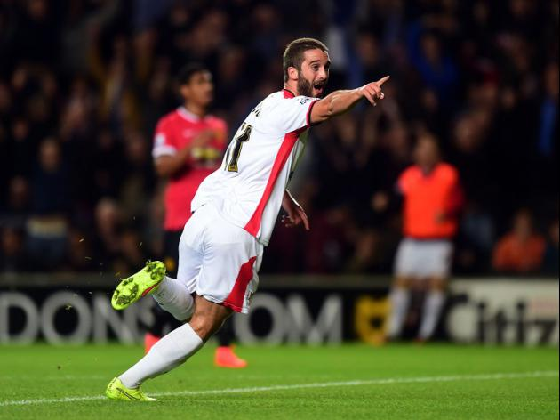 United humbled by MK Dons