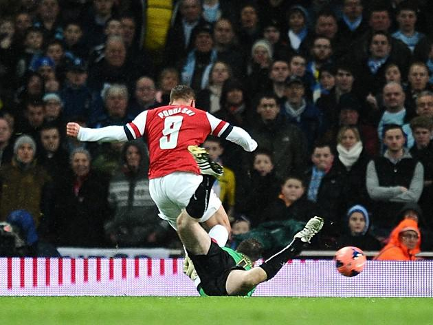 Arsenal ease past Coventry challenge