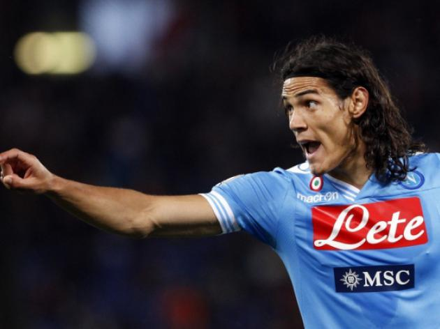 Chelsea target Edinson Cavani in Paris to finalise transfer