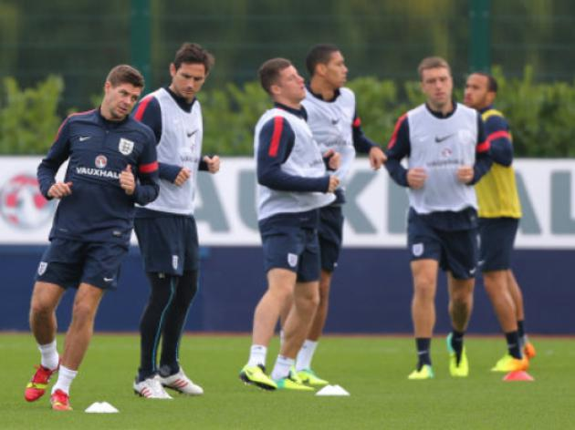 England train ahead of crucial world cup qualifier against Poland - Video