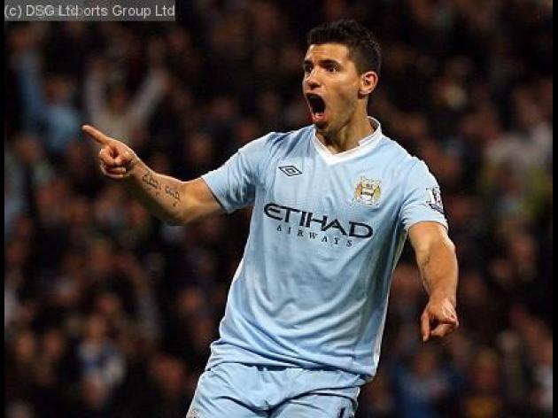 Top 10 Strikers in the world 2012: 8 - Sergio Aguero