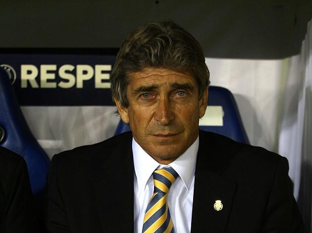 Pellegrini prepares to face the press on City debut