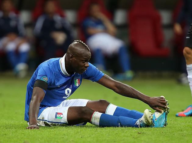 Balotelli to miss semi-final