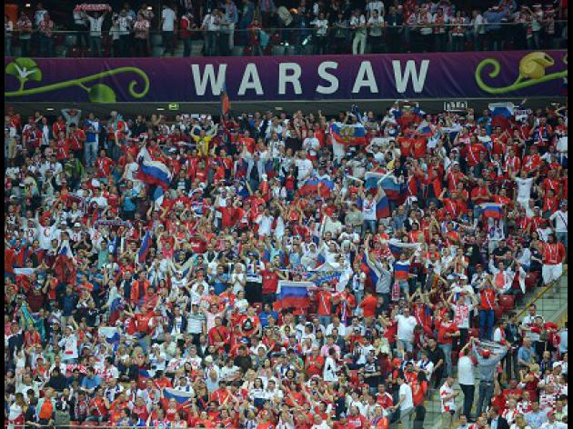 Russia fined for fan offences