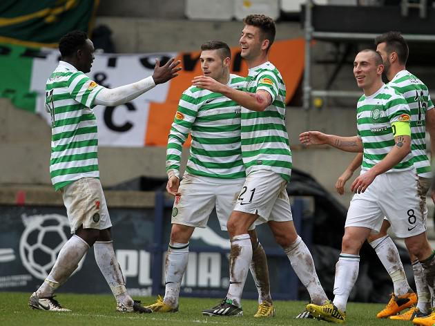 Celtic ease through in Scottish Cup