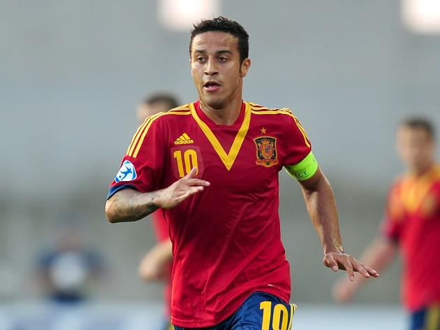 Thiago inspires Spain to victory