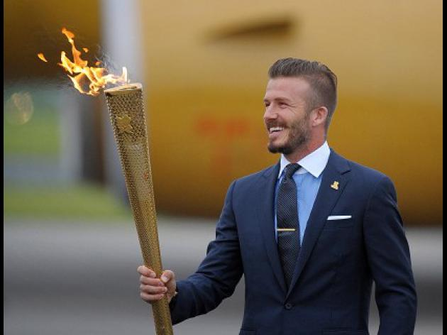 Beckham dismisses torch lighting talk
