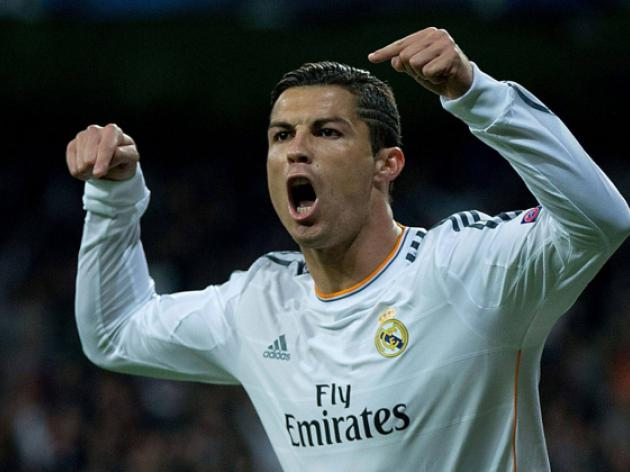 Ronaldo fires hat-trick for five-star Madrid