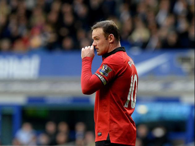 Rooney a doubt for United