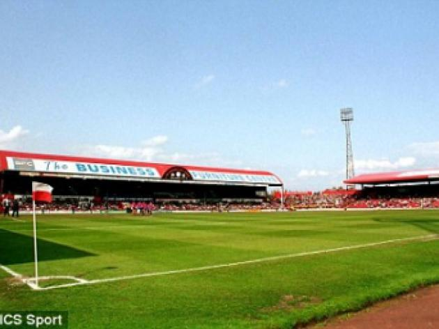 Middlesbrough's Ayresome Park 25th anniversary of the  stadium lockout