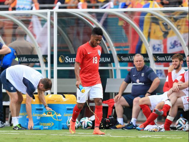Sterling off as England draw